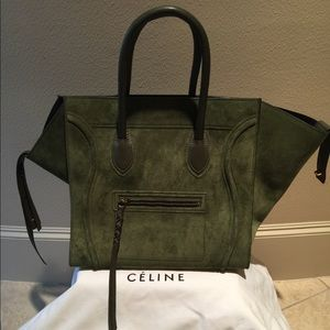 Celine Suede Phantom - Square Luggage